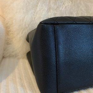CHANEL Bags - Chanel GST black caviar gold hardware